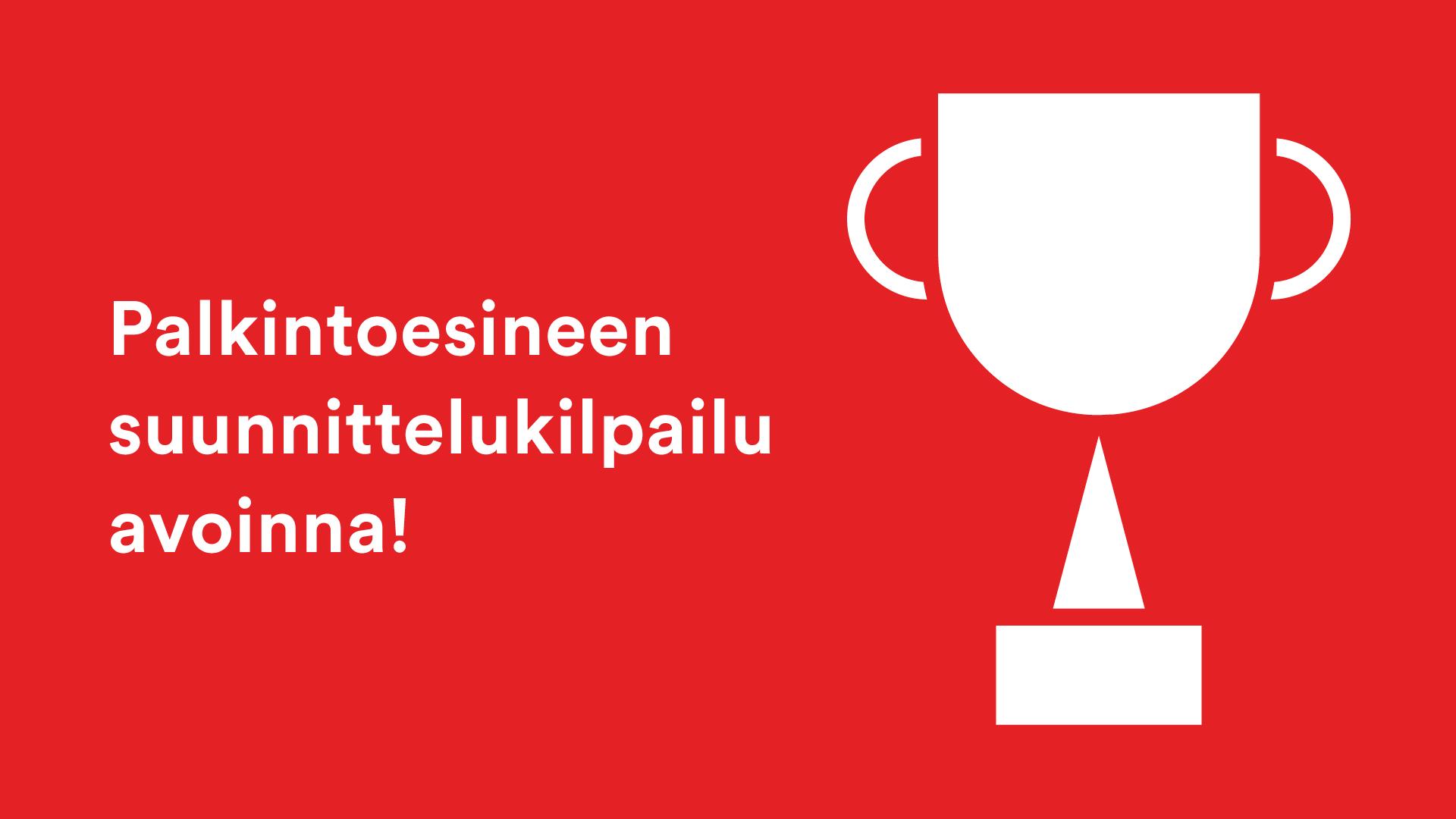 Kilpailu: Suunnittele Kulttuurigaalan palkintoesine